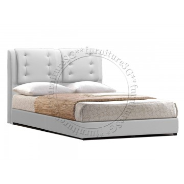 Faux Leather Bed LB1073