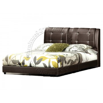 Faux Leather Bed LB1074
