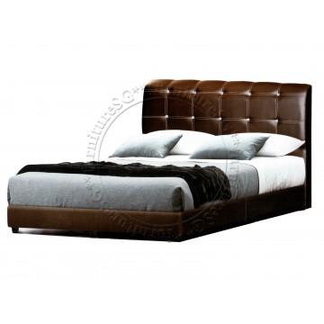 Faux Leather Bed LB1075