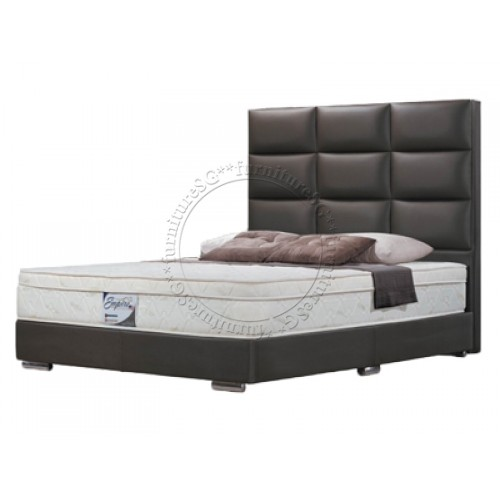 > Faux Leather Beds