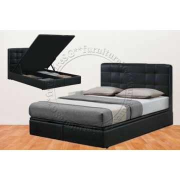 Faux Leather Storage Bed LB1080 (Queen Only)