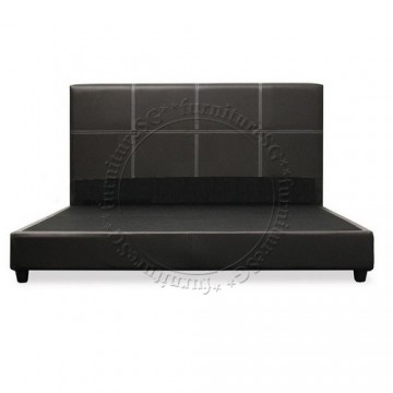 Faux Leather Bed LB1068K - King