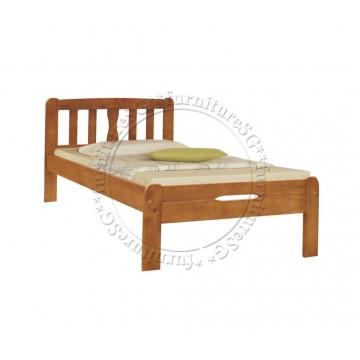 Bundle B1 : Super Single Wooden Bed & Mattress