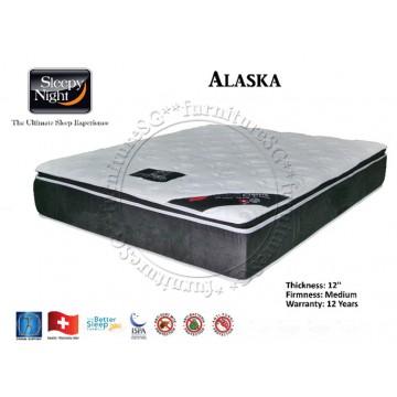 Sleepy Night Alaska Pocketed Spring Mattress