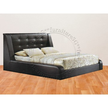 Faux Leather Bed LB1098