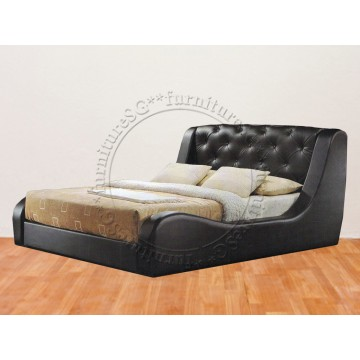 Faux Leather Bed LB1095