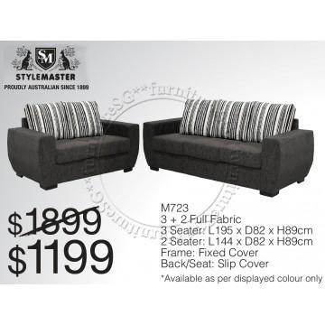 STYLEMASTER 3+2 Sofa Fabric FSF1021