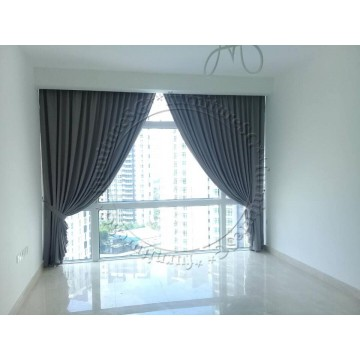 Single Layer Curtains (100% Blackout Single Layer)