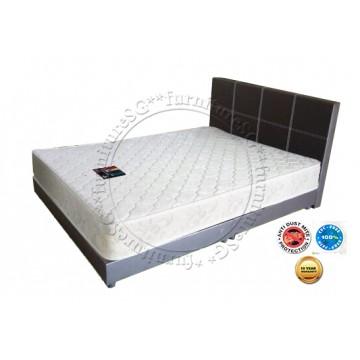 KingsBed - Bonnell Spring Mattress And Bed Frame