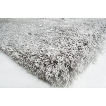Carpet CP1053 Grey + Silver (Long Shaggy)
