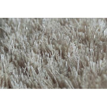 Carpet CP1062 Beige + Silver (Long Shaggy)