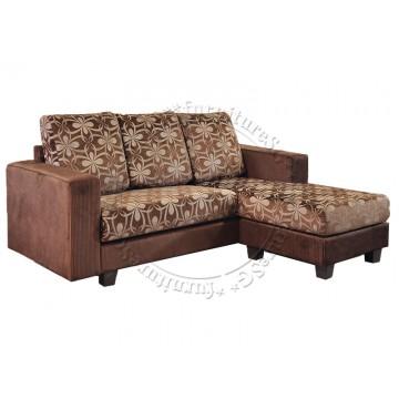 L-Shaped Fabric Sofa FSF1035