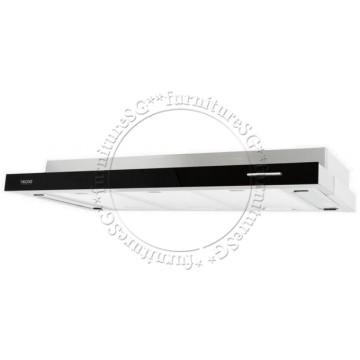 Tecno 90cm Slim Hood with Black Acrylic Front Panel (TH-978TL)