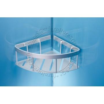 Corner bath basket (Matte)