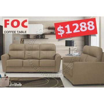 Half Leather Sofa Set SFL1138