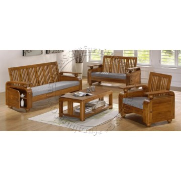Teak Wood Sofa Set WS1025