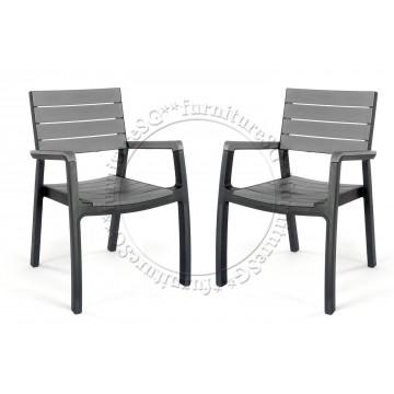 Keter Harmony Outdoor Armchair Grey