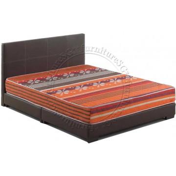 "Bundle Z : 8"" Foam/Spring Mattress & Bed (3 sizes)"