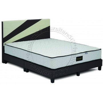Bedframe with Foam or Spring Mattress Deal | 4 Sizes | Foam or Spring