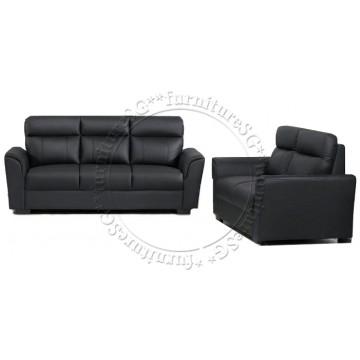 Sofa Set SFL1208 (Half Leather)