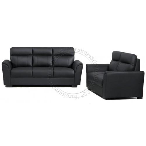 Sofa - Half Leather Sofa