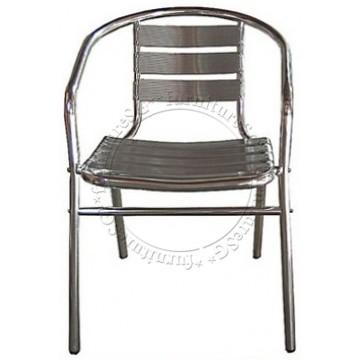 Aluminium Chair (Silver)
