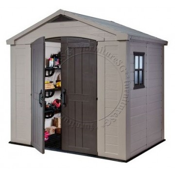Keter - Factor 8x6 Shed (Available from Dec' 2021)