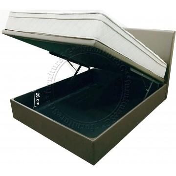 Viro -  Altis Storage Bed frame with Athena Mattress