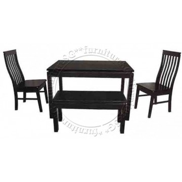 Dining Table DNT1299W - Dark Brown