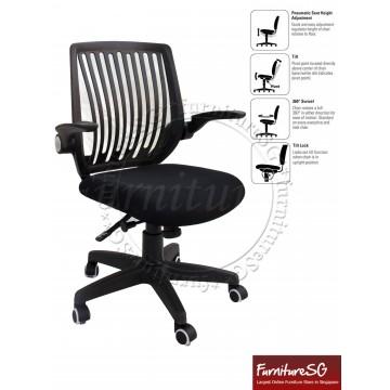 Office Chair OC1002 (Black)