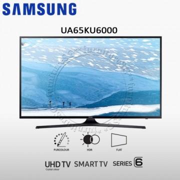 "SAMSUNG UA65KU6000 UHD 4K FLAT SMART TV (65"")"