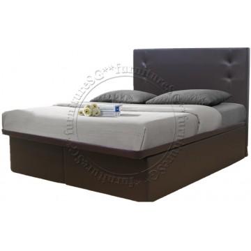 Kingston Storage Bed + Mattress (Queen Size)