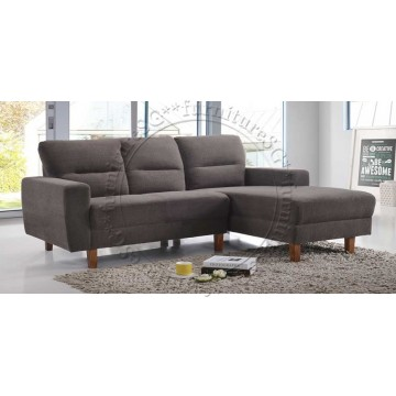 Sally L-Shaped Fabric Sofa