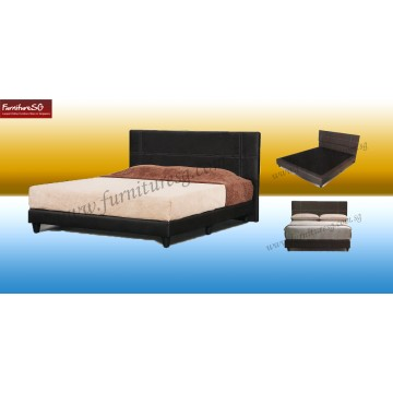 Faux Leather Bed LB1003