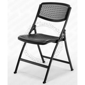 Fold-Away Plastic Chair