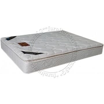 PrinceBed - Royal Premium Natural Latex Pillow Top Pocketed Spring Mattress