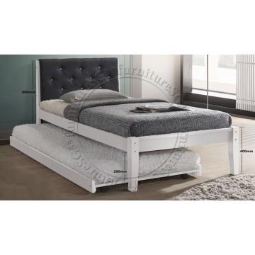 Portia Wooden Bed
