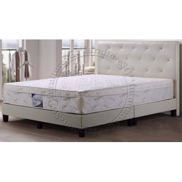 Lenia Faux Leather Bed