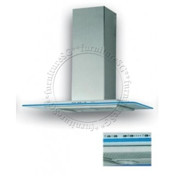 Tecno 90cm Stainless Steel Designer's Chimney Hood K 9788 (SS)