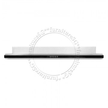 UNO Slim Line Hood with Black Acrylic Front Panel UA 6112