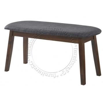 Fabric Cushion Dining bench