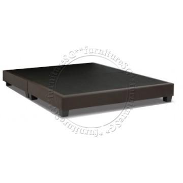 Faux Leather Bed LB1068  - Divan Only