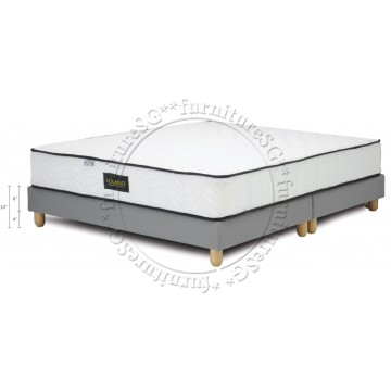 Fabric Bed FAB1006 - Divan only