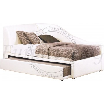 2 in 1 Faux Leather Bed 1003