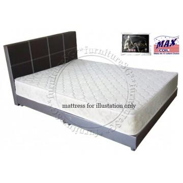 Bundle H :Faux Leather Bed & Athena Spring Mattress | 4 sizes
