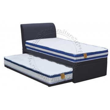 Effie 2 in 1 Faux Leather Bed