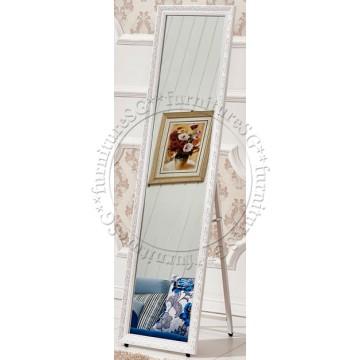 Standing Mirror Elegant White