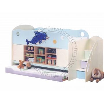 Children Bed CBR1017 (Single)