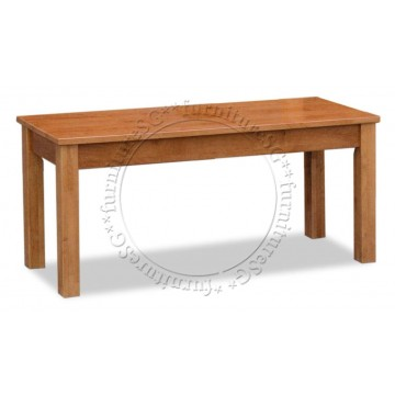 Furano Solid Wooden Bench