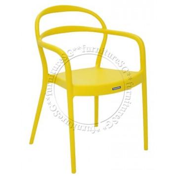Tramontina - Sissi Armchair (Yellow)